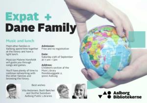Expat + Dane Family Lunch @ Hovedbiblioteket | Aalborg | Danmark